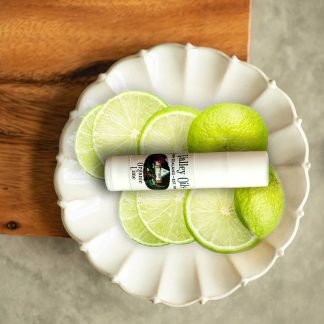 handcrafted Organic Lime Flavored Lip Balm Valley Essential Oils Auckland New Zealand